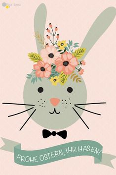 # sprüche # greetings You can find this and 20 more beautiful Easter greetings on ROOMBEEZ! Happy Easter ♥ # sprüche # greetings You can find this and 20 more beautiful Easter greetings on ROOMBEEZ! Easter Art, Easter Crafts, Easter Bunny Pictures, Easter Printables, Happy Birthday Greetings, Nouvel An, Happy Easter, Diy And Crafts, Creative