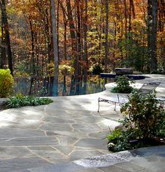 Plusen Landscape Architects...terrific patio and pool!