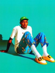 Tyler the Creator Golf Wang Releases a Highly Saturated 2016 Fall/Winter Collection Tyler the Creator Tyler The Creator Wallpaper, Hippie Art, Color Of The Year, Winter Collection, Pantone, Fall Winter, Golf, Ideas Para, Sketch