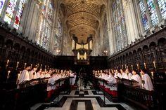 King's College Choir, Cambridge.