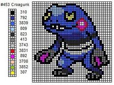 453 Croagunk by cdbvulpix.deviantart.com on @deviantART