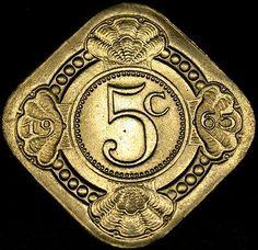 1965 NEDERLANDS 5 Cent Nickel