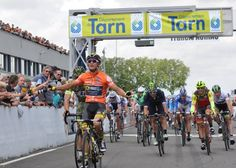 Bryan Coquard wins stage 2 of the Route du Sud - Poulhies 2nd & Belletti 3rd.