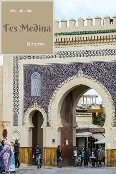 The 1300 year old walled Fes Medina is a place to wander, to get lost, and to discover. It is one of the world's largest pedestrian zones. Read the article for more photos via @Rhondaalbom