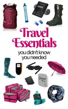 Travel Essentials You Didn't Know You Needed. It is a new year. Maybe you have decided to travel more this year. Travelling has never been easier. With useful products like packing cubes, laundry bags and mobile hotspots make travelling a lot more comfortable. #travelessentials
