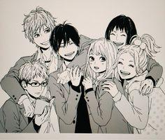 I honestly cried while reading the manga, hit me right in the feels M Anime, Anime Love, Anime Art, Comic Manga, Manga Comics, Manga Books, Manga Art, Orange Anime, Takano Ichigo