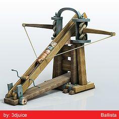 Ballista Obj - 3D Model
