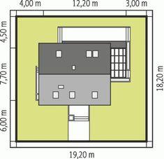 Projekt domu AC Lea (wersja A) CE - DOM - gotowy koszt budowy Planer, Floor Plans, Home Plans, Floor Plan Drawing, House Floor Plans