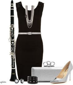 """""""Clarinet Inspired"""" by angkclaxton on Polyvore    i love this person!! they are a god!!"""