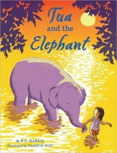 FIC HAR, Tua has everything she needs at home in Thailand, except she's always wanted a sister. Tua makes an accidental acquaintance—one with wise, loving eyes, remarkable strength, and a curious trunk. It's clear this elephant needs help. They set off on a remarkable journey to escape from Pohn-Pohn's captors. From the bustling night market to the Buddhist temple and to the sanctuary of an elephant refuge, this clever girl and her beloved companion find exactly what each needs: a friend.