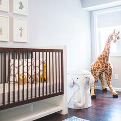 I loved getting a sneak peak into this adorable Safari Nursery!