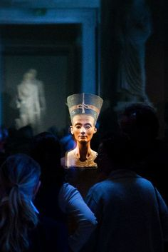 Eternal...Queen Nefertiti of Egypt at the Neues Museum, Berlin, Germany photo by Børre Ludvigsen.
