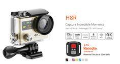 Original EKEN pro Ultra HD Action Camera with Ambarella chip Screen go sport Camera cam Professional Digital Camera, Sports Camera, Video Camera, Wide Angle, Fujifilm Instax Mini, Camcorder, Wifi, Remote, Action