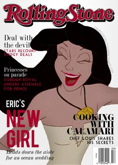 The next cover in my series of Disney Villain magazines, inspired by PetiteTiaras.