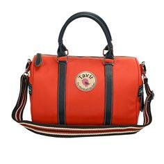 กระเป๋าถือ Smile สีส้มแครอท