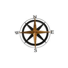 how to draw a simple compass