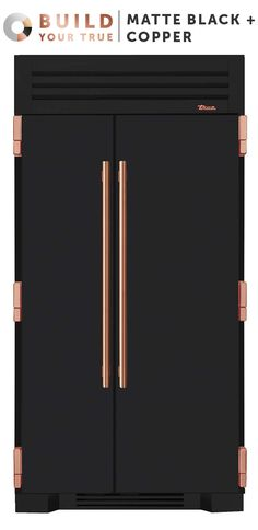 Matte Black + Copper | Inspired by chefs, refined for the home, and now designed by you, your custom True will both anchor your kitchen and set it apart. | Featured Product: The True 42