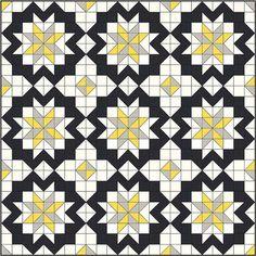 Star Surround Quilt Kit - Dandelion Grey | Flickr - Photo Sharing!
