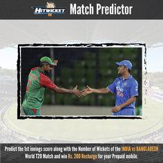 #Prediction  #Matchpredictor #indvsban #fbcontest
