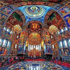 A church in Saint Petersburg Russia