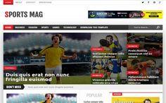 Download Tempelete Berita Bola - Sports Mag Blogger Template ~ SENJATA WEB