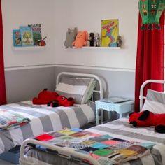Shared boys bedroom.
