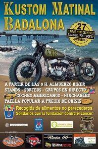 Crónica de la 1era Kustom Matinal Badalona organizada por Forajidos MC Barcelona. Si te lo perdiste, ... Gemma Encinas te explica como fue, fotos, que sucedió, que se encontró, …