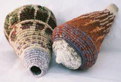 crochet seashells