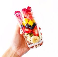 Healthy fruit cups