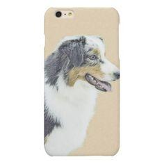 #Australian Shepherd Matte iPhone 6 Plus Case - #australian #shepherd #puppy #shepherds #dog #dogs #pet #pets #cute #australianshepherd