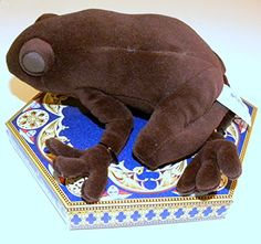 Harry Potter Velventeen Plush Chocolate Frog (This is sooo cute!!)