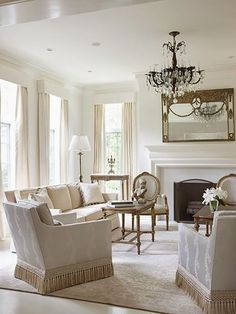classic style - watered silk upholstery