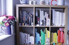 Bookshelf: Designer Claude dAvoine tells us about his colour-coded book collection