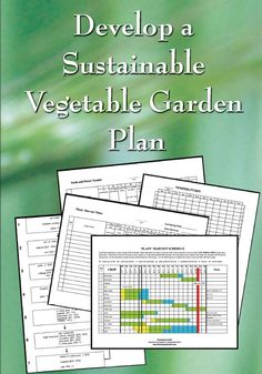 Develop a Sustainable Vegetable Garden Plan (DVD plus CD) $40.00