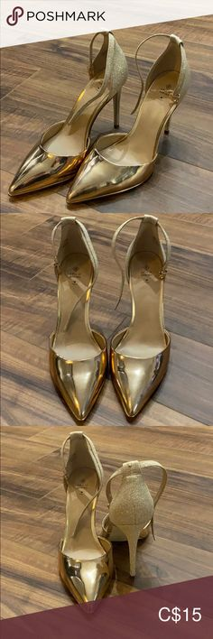 Bought them to wear out but realized the of a dark shoe girl. Only wore once to try one Call It Spring Shoes Heels Beige Pumps, Sparkly Heels, Spring Shoes, Girls Shoes, Pumps Heels, Dark, How To Wear, Closet, Stuff To Buy