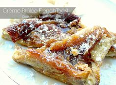 Creme Brulee French Toast #QuickFixCasseroles