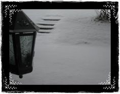 Astridhuset: Julemarked og den første snøen i år...