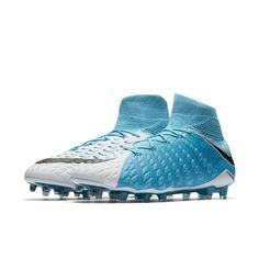 wholesale dealer 3d17d 8236f Nike Hypervenom Phantom 3 DF Firm-Ground Soccer Cleats Size 12.5 (Blue) -