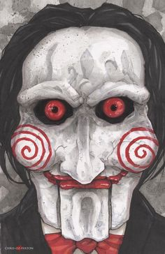 Saw Jigsaw Billy ▮by▮ ChrisOzFulton ▮on▮ DeviantArt