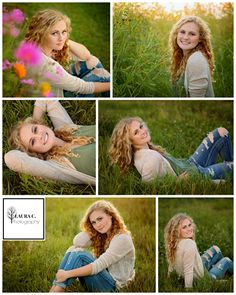 Ashley Husing | Class of 2017 High School Senior | Gretna, Nebraska | Senior Girl Pose Ideas | Nature | Outdoors | Rural | In a Field | Wildflowers | Natural Light | Sunset | Golden Hour | Laura C. Photography 2016