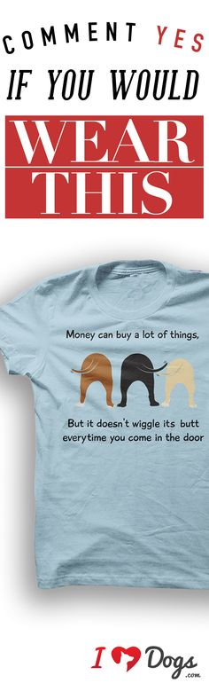 Would you wear this? Comment below! *Every purchase feeds 7 shelter dogs