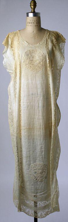 Nightgown Boué Soeurs (French) Date: 1919