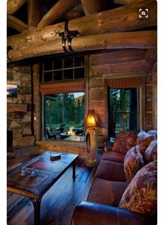 Modern Take On A Log Cabin Custom Built By NSM Construction In Truckee CA