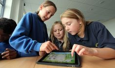 From iPads to social media, technology is revolutionising learning for gifted and talented children. Photograph: Dimitris Legakis/D Legakis ...