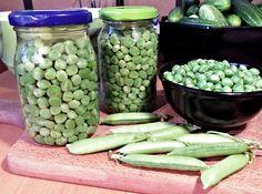 Zavařujeme (sterilujeme), nakládáme zeleninu - ty nejlepší recepty na zpracování zeleniny na jednom místě!   ReceptyOnLine.cz - kuchařka, recepty a inspirace Pickles, Cucumber, Beans, Vegetables, Food, Syrup, Essen, Vegetable Recipes, Meals