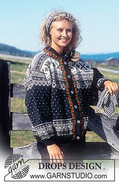 DROPS 32-19 - DROPS Sweater or jacket in Karisma Superwash with or without ribbon. Long or short model. Socks, Hat, Head band, Mittens - Free pattern by DROPS Design