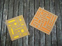 How-To: Mod Cork and Felt Coaster Set