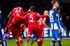 Hertha BSC - FC Bayern München 1:1 (1:0)