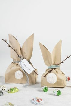 : Make homemade Easter bunny bags for kids DIY easter bunny goody bags. A fun easter project by Søstrene GreneDIY easter bunny goody bags. A fun easter project by Søstrene Grene Easter Projects, Easter Crafts, Diy Projects, Diy Easter Bags, Easter Gifts For Kids, Bunny Crafts, Fun Easter Ideas, Diy Crafts, Easter Dyi