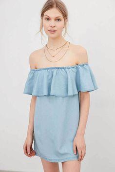Summer Boat Neck Loose Dress, Php578.00